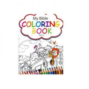 Bible colouring book