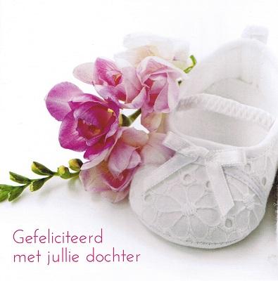 gefeliciteerd met julie dochter