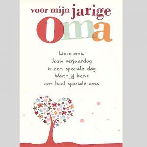 Voorkeur Gelukkige Verjaardag Gedicht Oma - ARCHIDEV #HI42