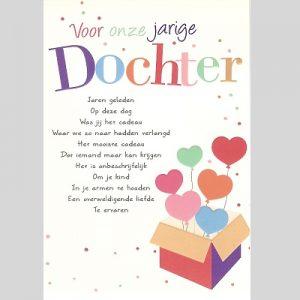 gefeliciteerd lieve dochter Verjaardagskaart Lieve Dochter   ARCHIDEV gefeliciteerd lieve dochter