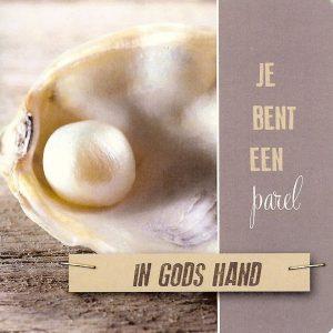 Parel in Gods hand