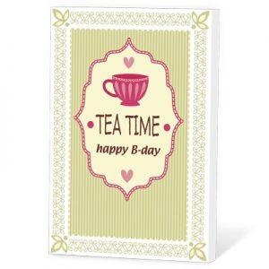 Tea time happy B-day