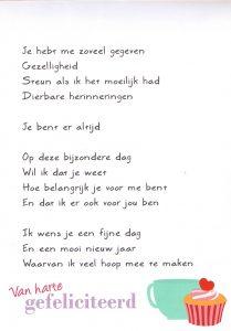 Gedicht Voor Mijn Jarige Vriend Archidev