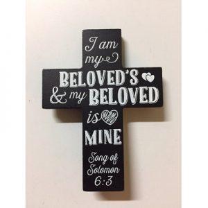 Kruisje He is my beloved
