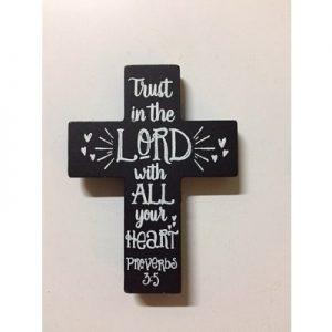 Kruisje Trust in the Lord
