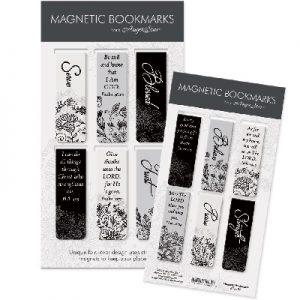 Magnetiche boekenleggers Black white