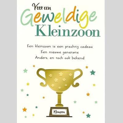 Gefeliciteerd Met Kleinzoon